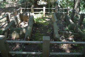 明戸古墳の石棺